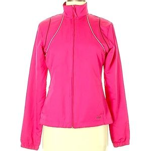 Reebok hot pink trac jacket S
